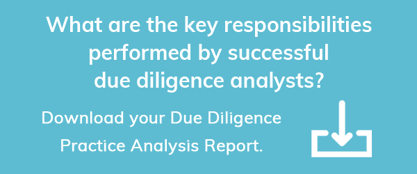 Download the Due Diligence Survey Report