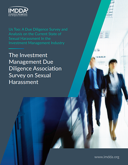IMDDA Sexual Harassment and Due Diligence Survey Report